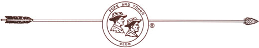 Pope and Young Club logo