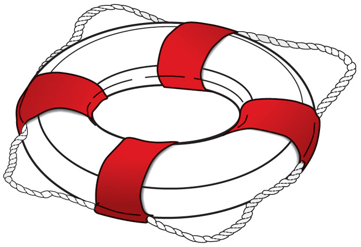 Type IV PFD ring buoy