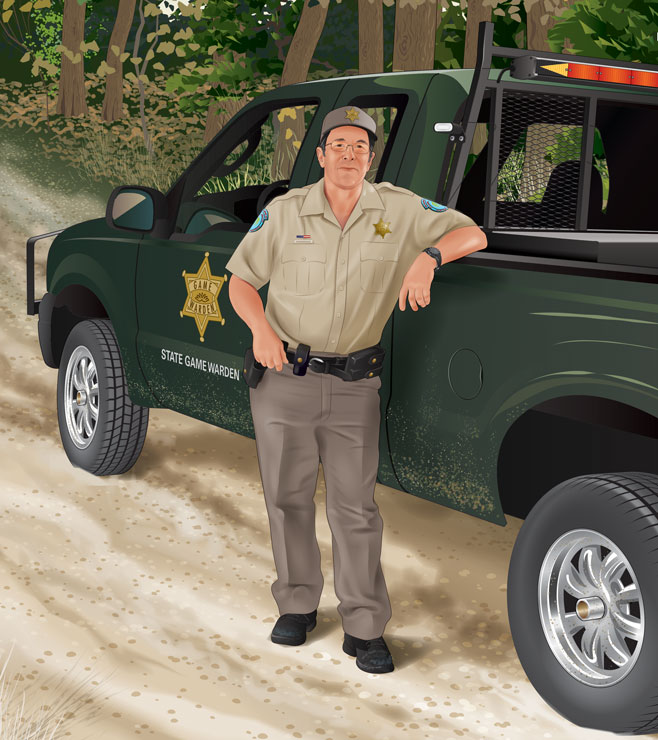 A game warden